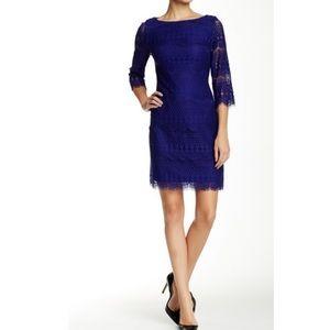 Eliza j 3/4 sleeve lace shift dress NWT